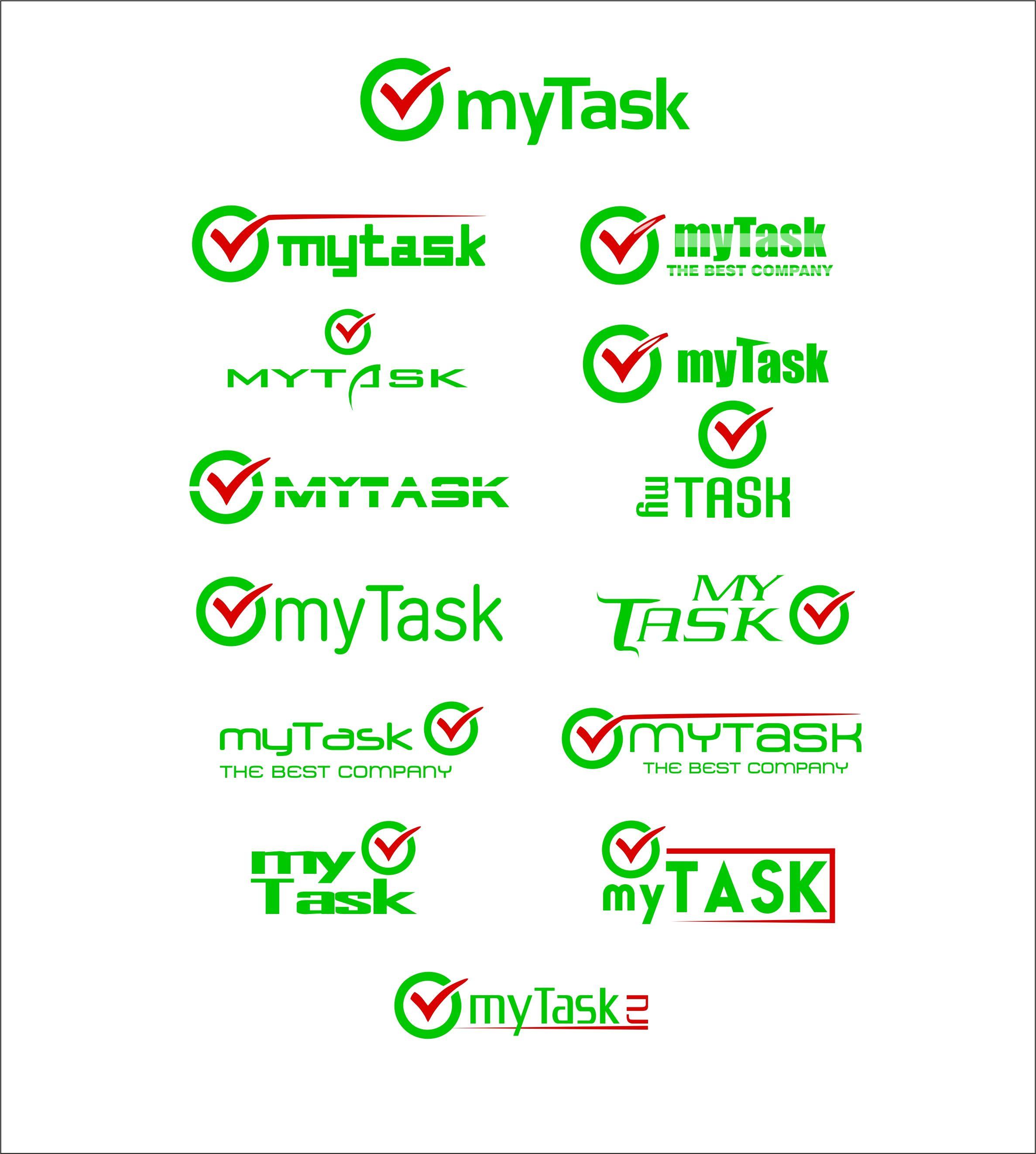 Доработка логотипа компании myTask - дизайнер vir_bat