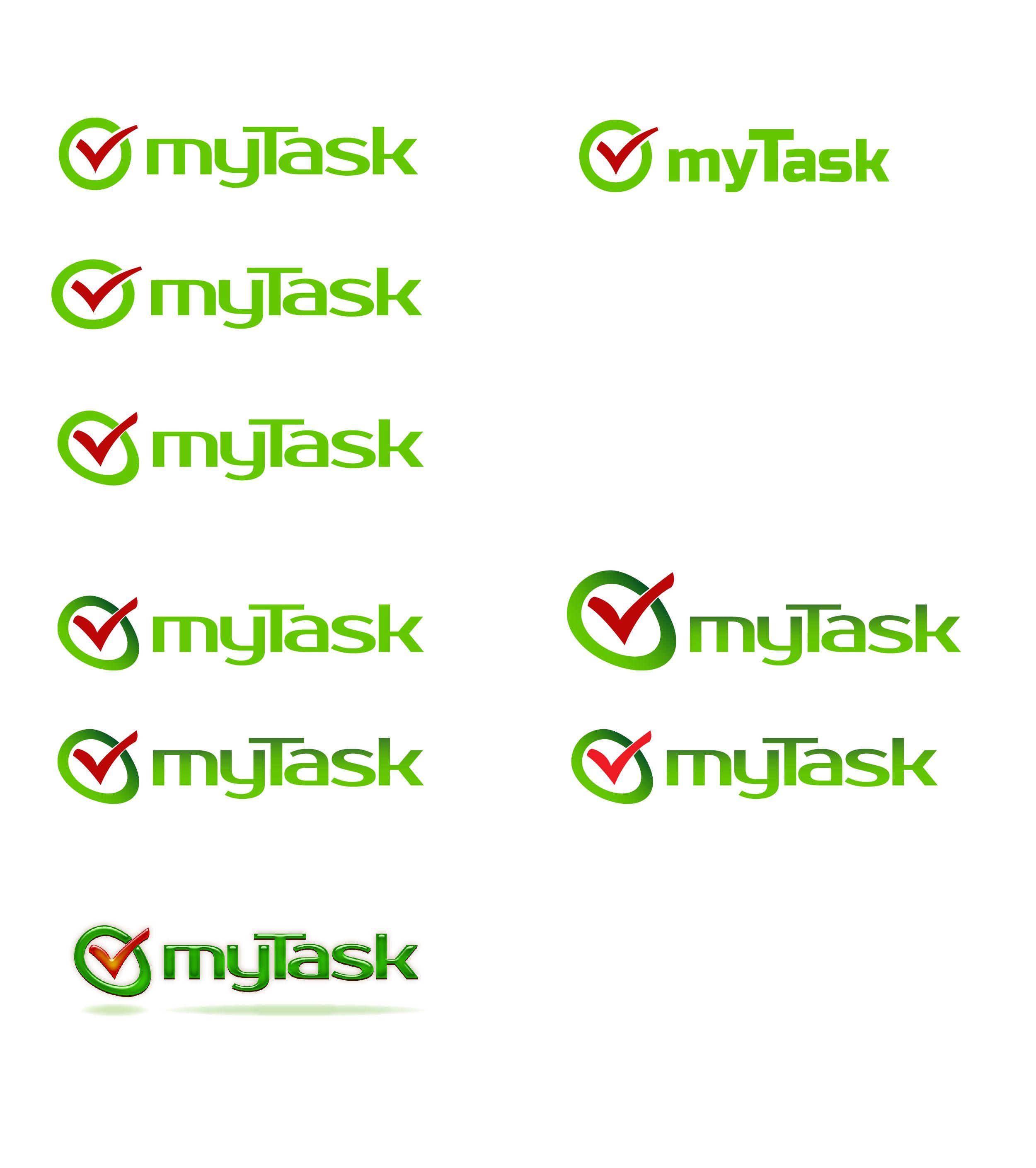 Доработка логотипа компании myTask - дизайнер Luminosi