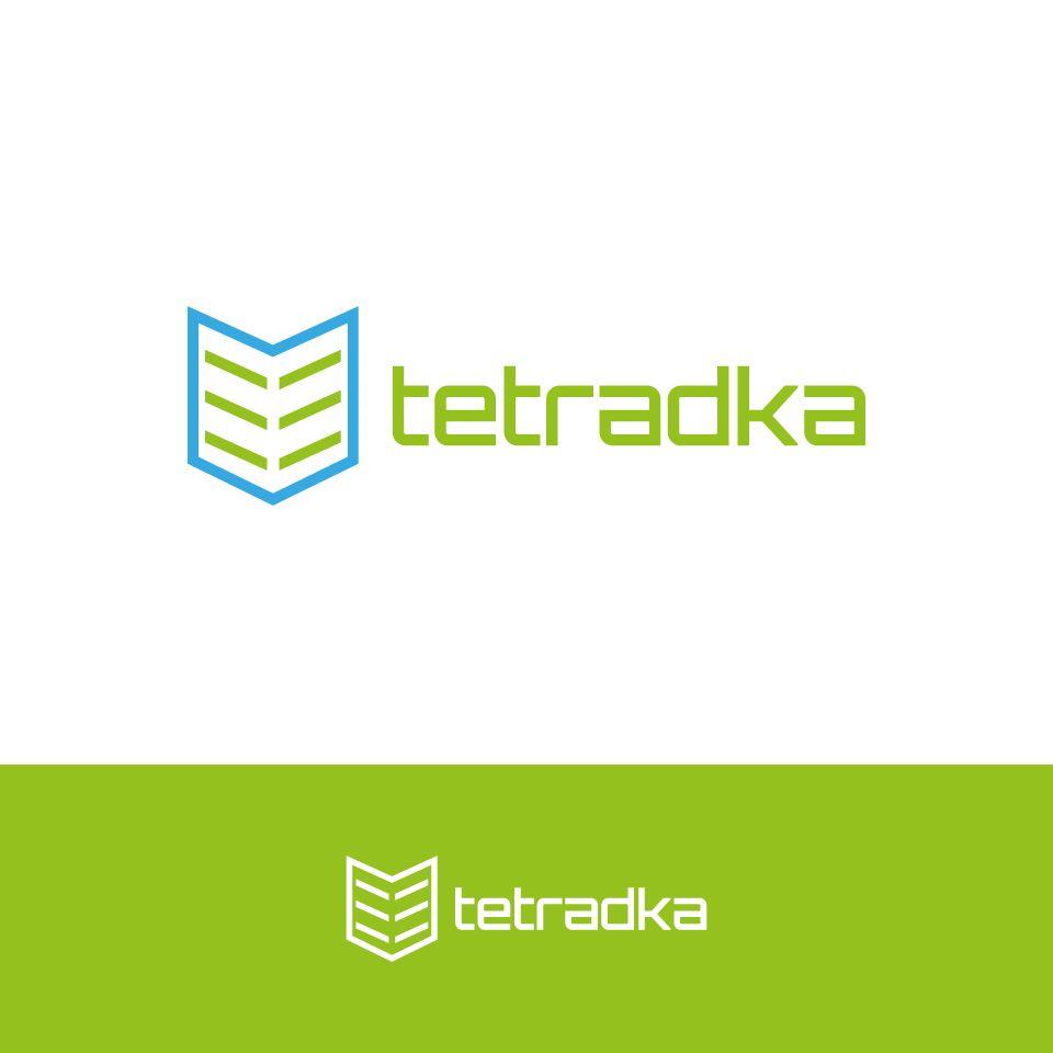 Логотип для образовательной сети tetradka.ru - дизайнер tutcode