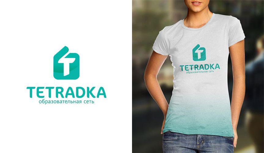 Логотип для образовательной сети tetradka.ru - дизайнер irina-july2