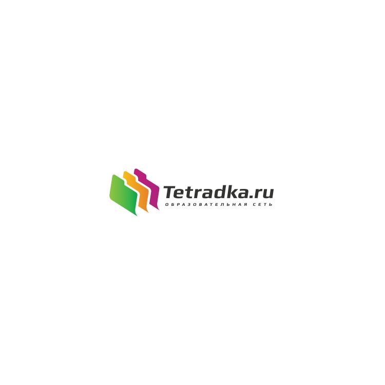Логотип для образовательной сети tetradka.ru - дизайнер luckylim