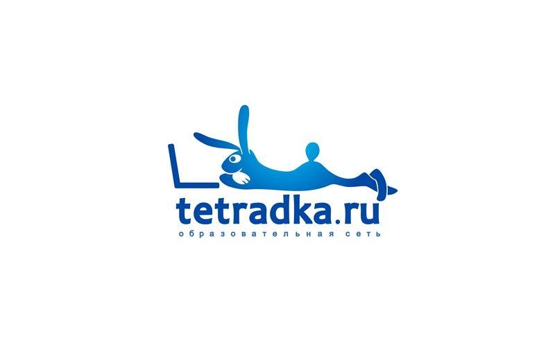 Логотип для образовательной сети tetradka.ru - дизайнер novayai