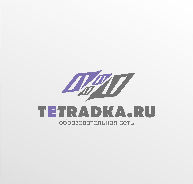 Логотип для образовательной сети tetradka.ru - дизайнер timur2force