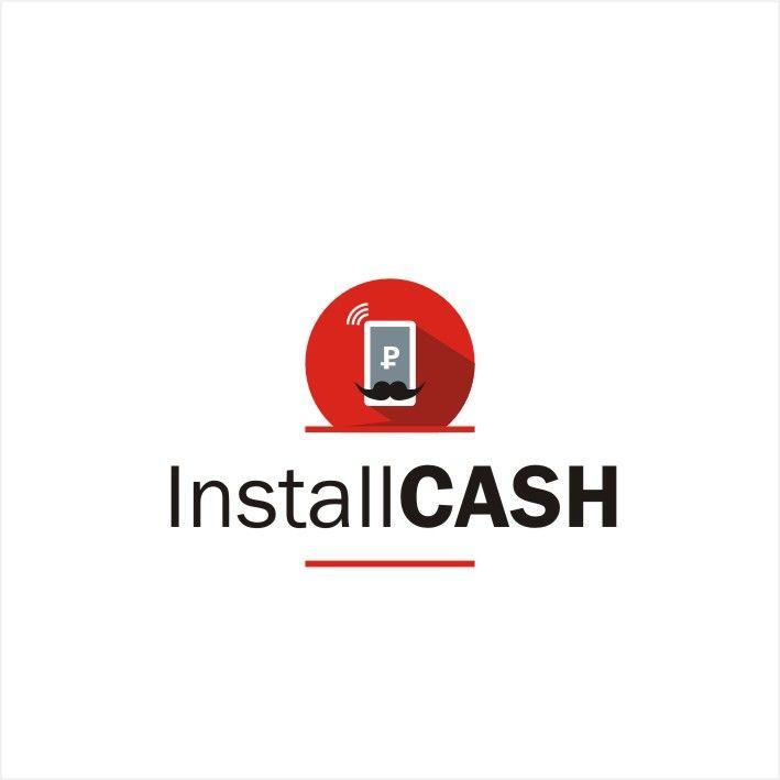 Логотип для партнерской программы InstallCash - дизайнер swito