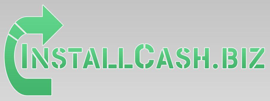Логотип для партнерской программы InstallCash - дизайнер DinoMatTM