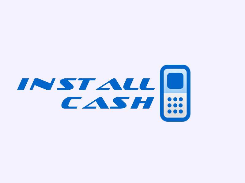 Логотип для партнерской программы InstallCash - дизайнер dreamveer