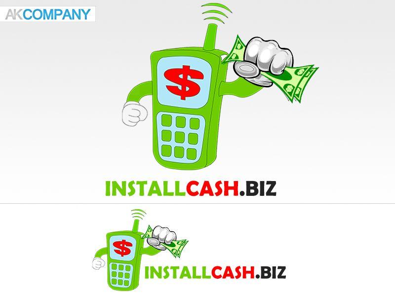 Логотип для партнерской программы InstallCash - дизайнер Andrewnight