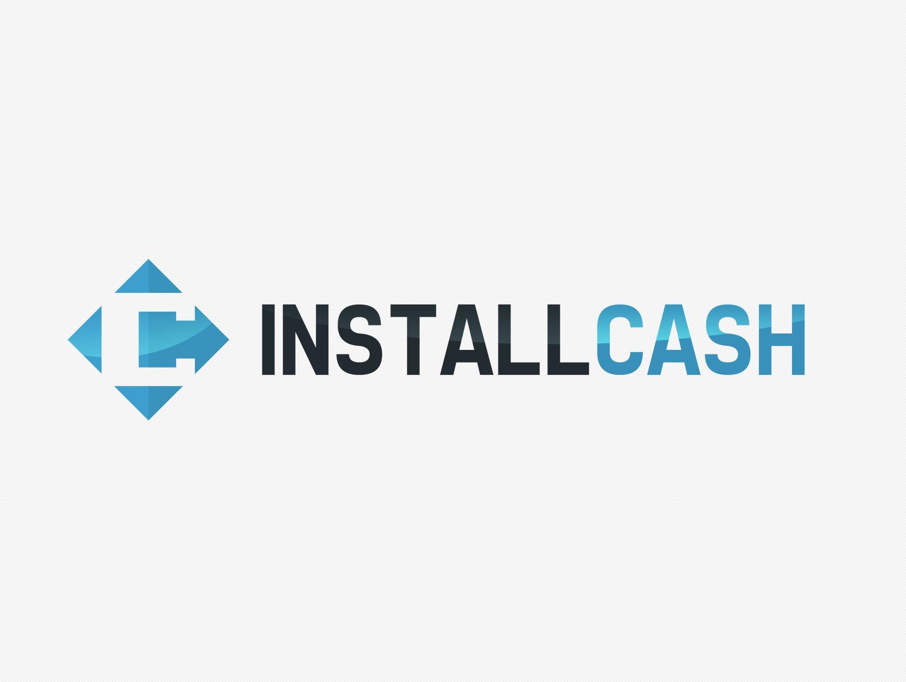 Логотип для партнерской программы InstallCash - дизайнер pensero