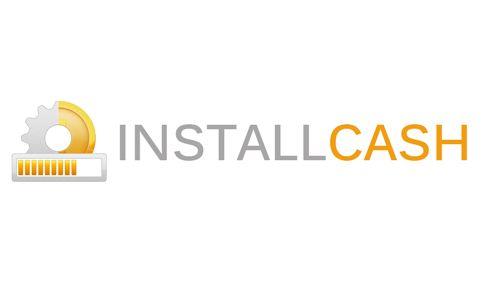 Логотип для партнерской программы InstallCash - дизайнер SergeyBaranov