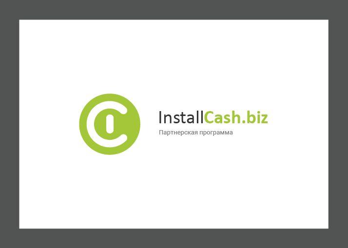 Логотип для партнерской программы InstallCash - дизайнер this_optimism