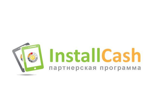 Логотип для партнерской программы InstallCash - дизайнер peps-65