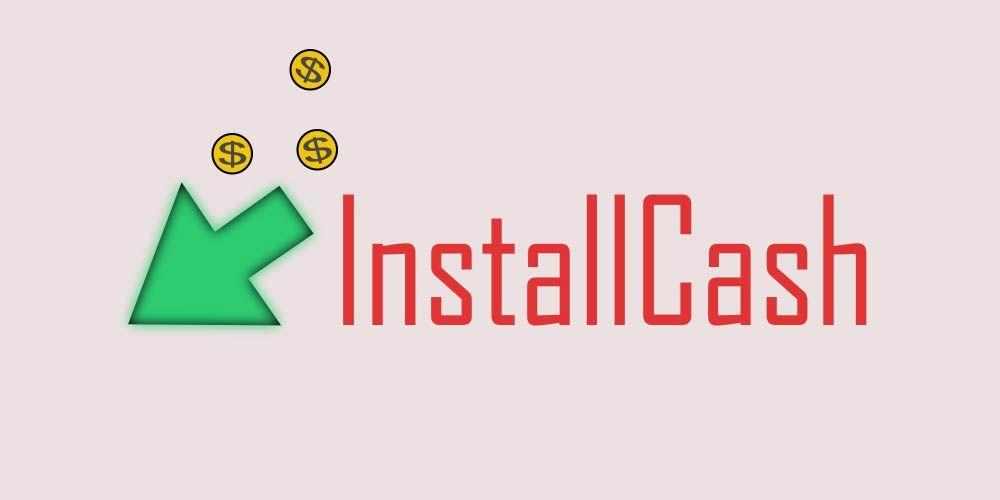 Логотип для партнерской программы InstallCash - дизайнер Victor_Dmitriev