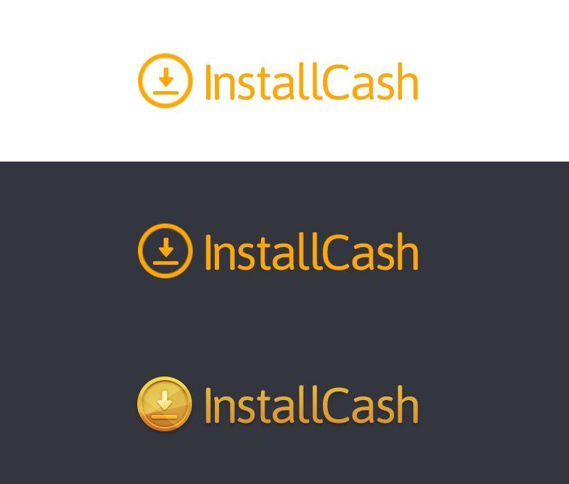 Логотип для партнерской программы InstallCash - дизайнер Fenucs