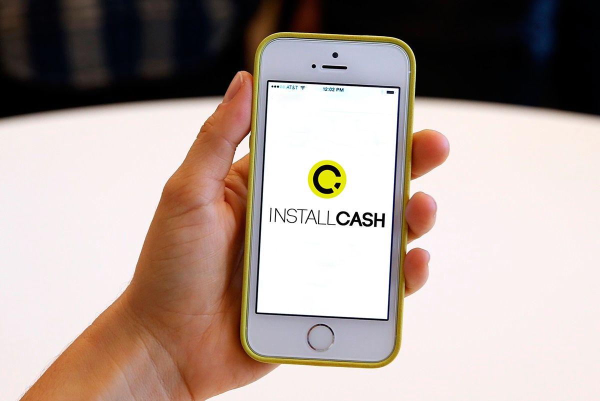 Логотип для партнерской программы InstallCash - дизайнер lightneon