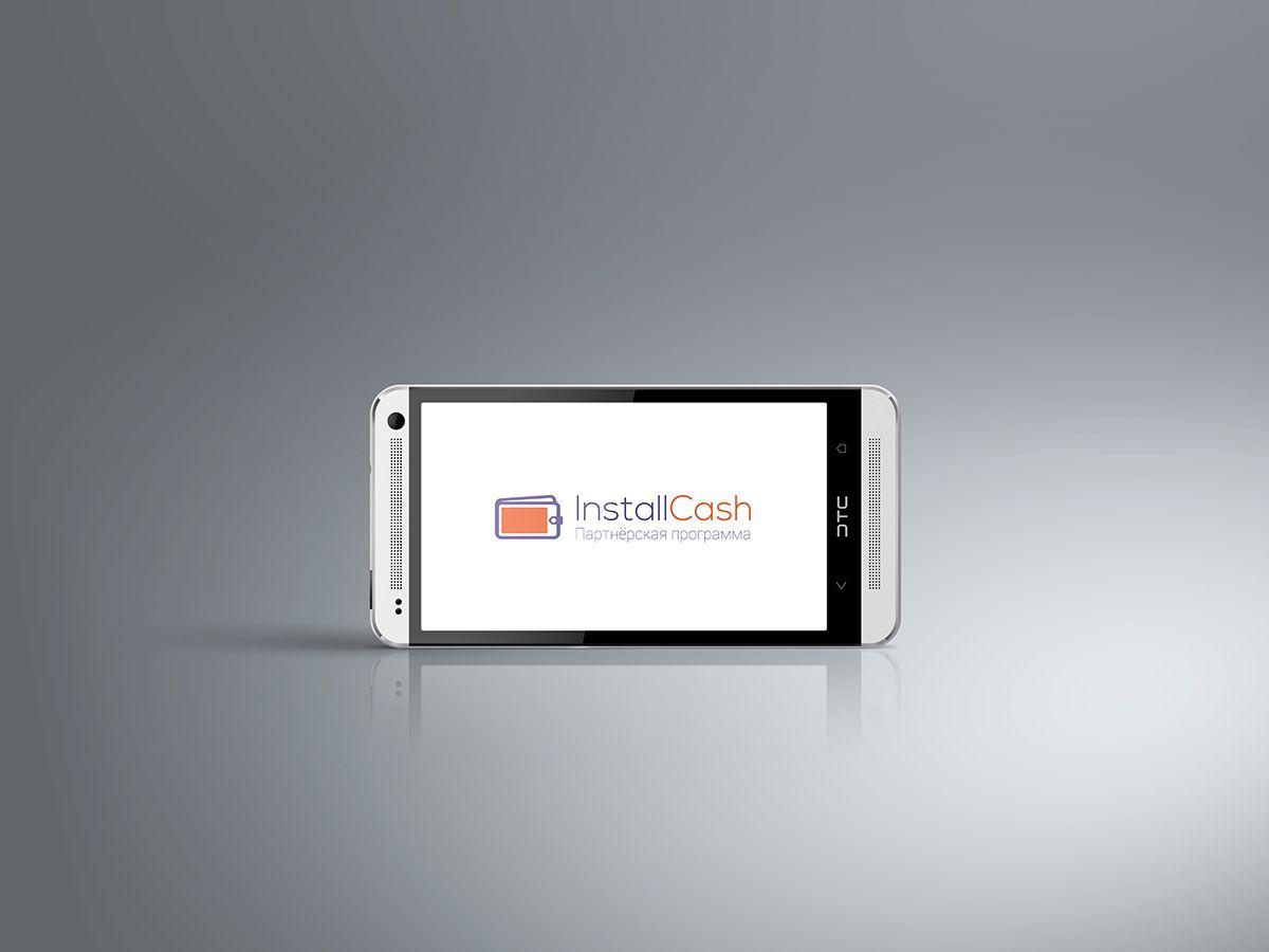 Логотип для партнерской программы InstallCash - дизайнер vadimsoloviev