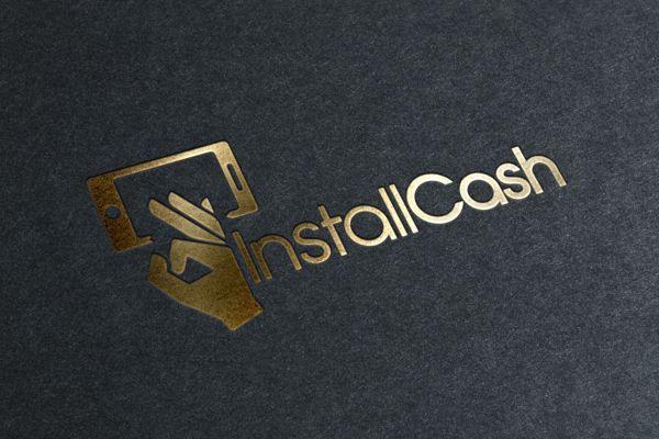 Логотип для партнерской программы InstallCash - дизайнер Gorinich_S