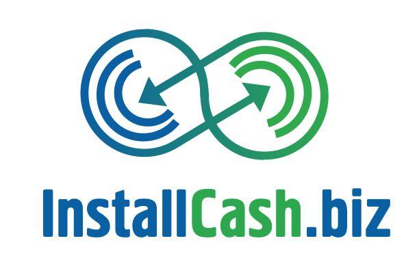 Логотип для партнерской программы InstallCash - дизайнер Jnos52