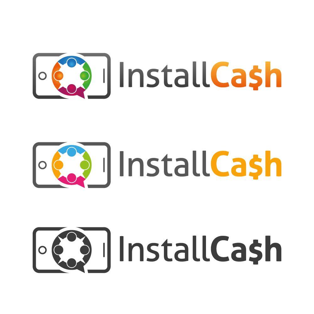 Логотип для партнерской программы InstallCash - дизайнер tutcode