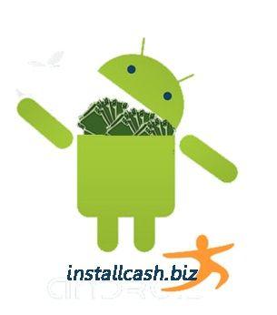 Логотип для партнерской программы InstallCash - дизайнер noll