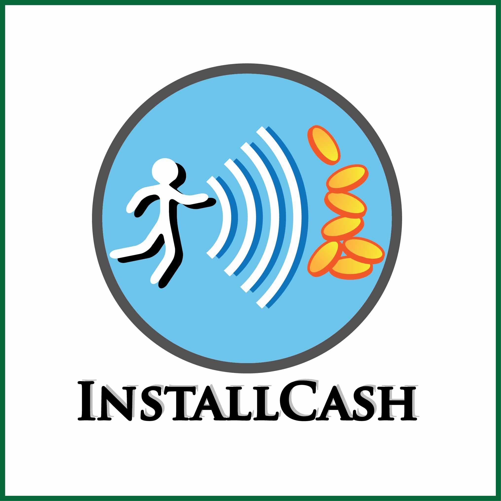 Логотип для партнерской программы InstallCash - дизайнер Kitayanki