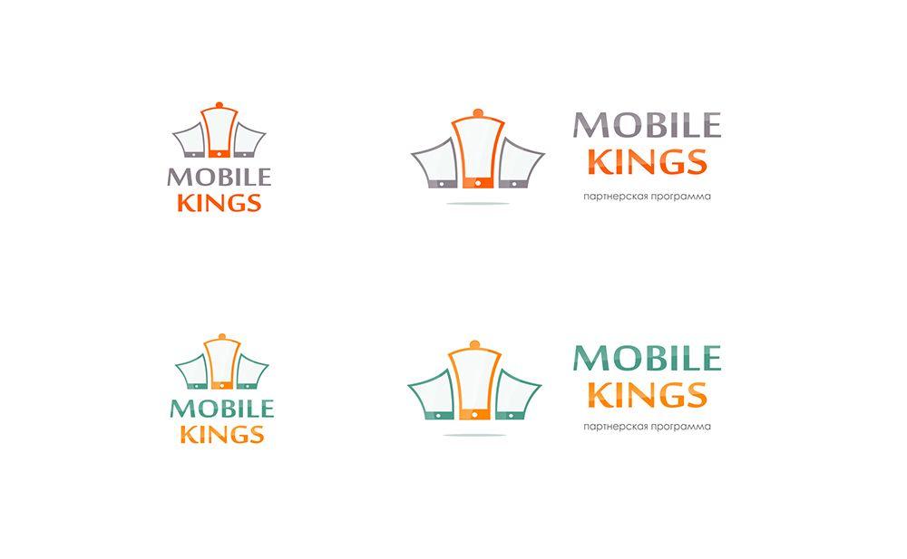 Логотип для партнерской программы MobileKings - дизайнер Zhe_ka