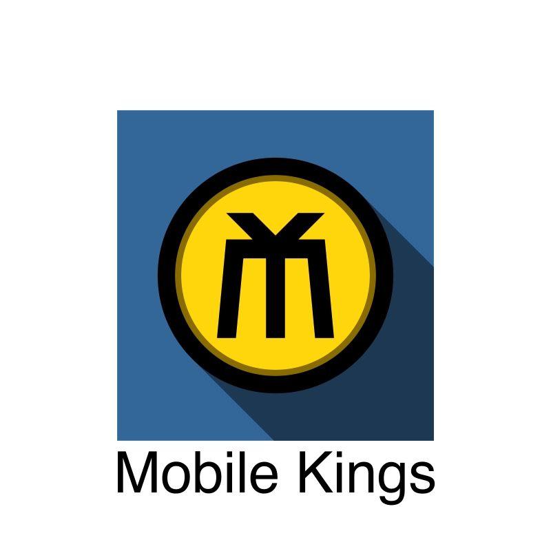 Логотип для партнерской программы MobileKings - дизайнер everypixel