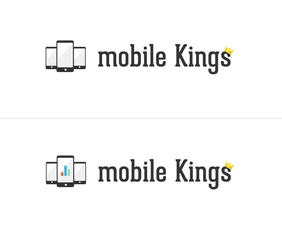 Логотип для партнерской программы MobileKings - дизайнер vech-make