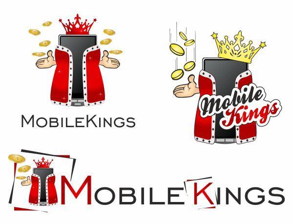 Логотип для партнерской программы MobileKings - дизайнер Zmeya