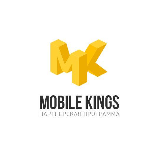 Логотип для партнерской программы MobileKings - дизайнер Timofey44