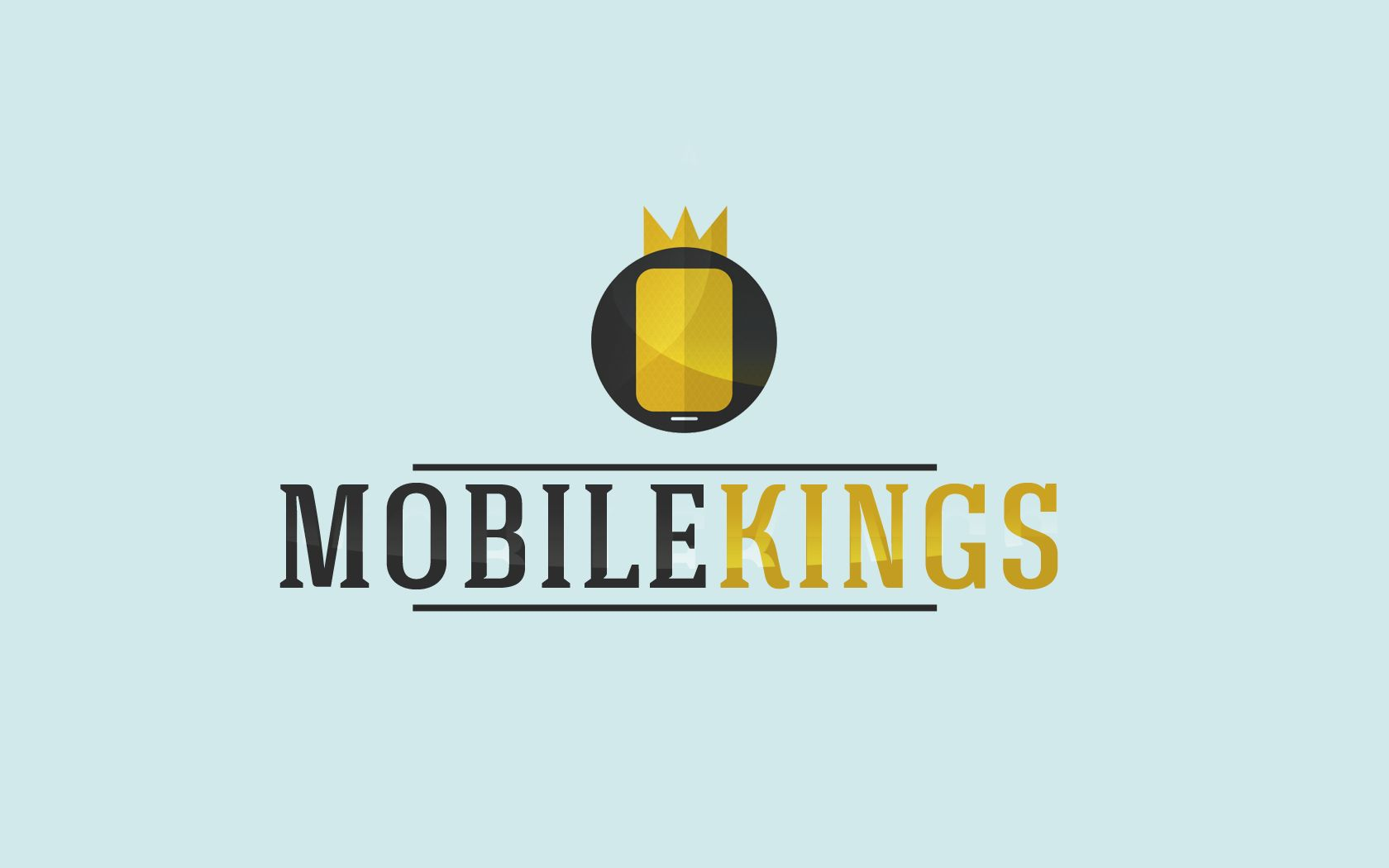 Логотип для партнерской программы MobileKings - дизайнер pensero