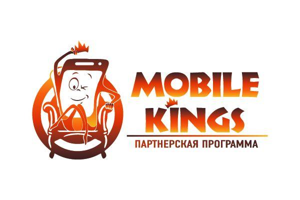 Логотип для партнерской программы MobileKings - дизайнер Gorinich_S