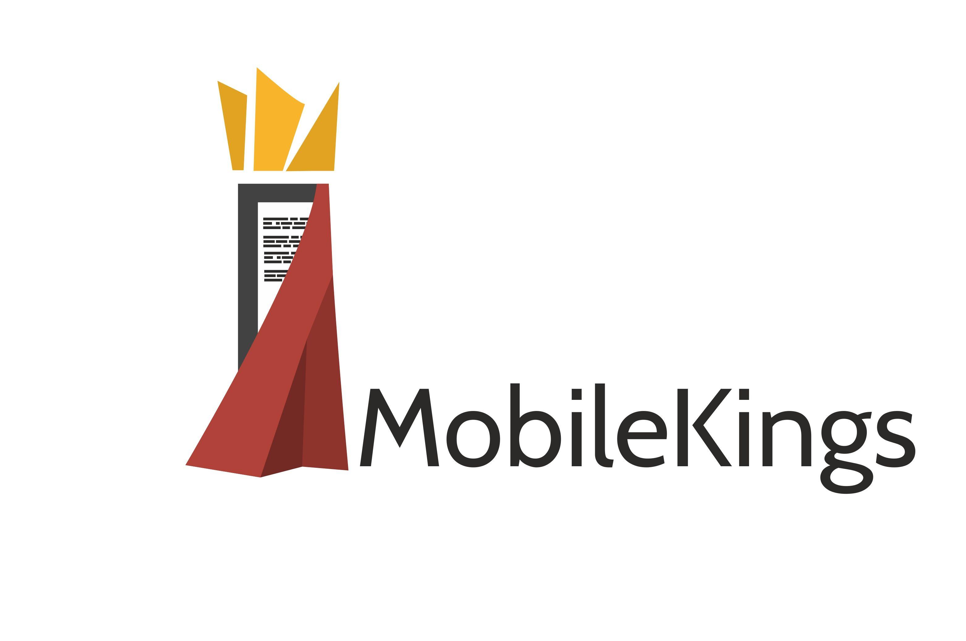 Логотип для партнерской программы MobileKings - дизайнер Nekor