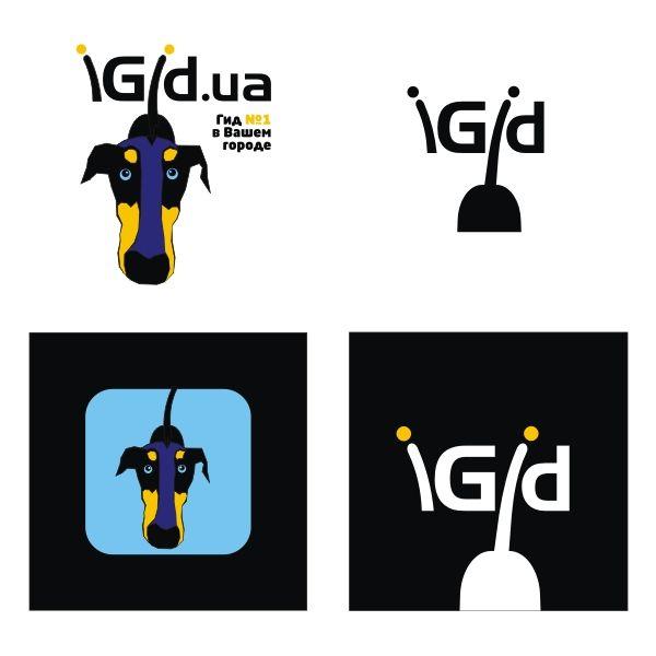 Создание логотипа iGid - дизайнер pashashama