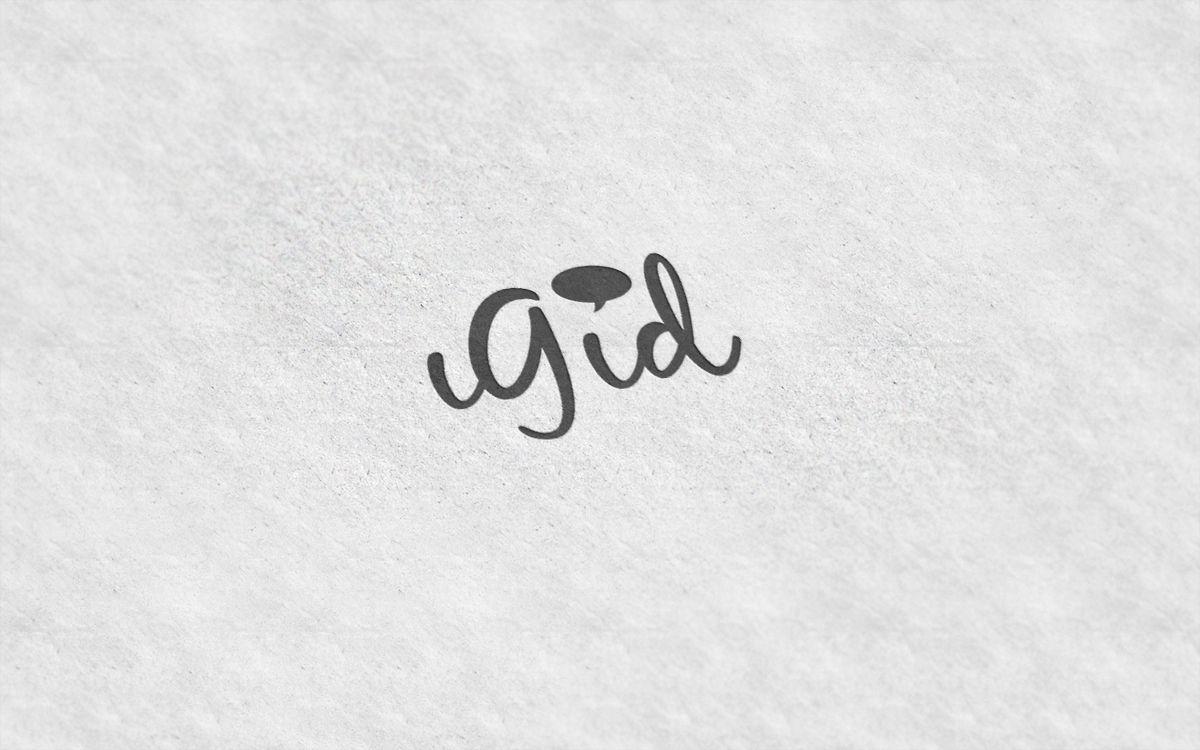 Создание логотипа iGid - дизайнер folo