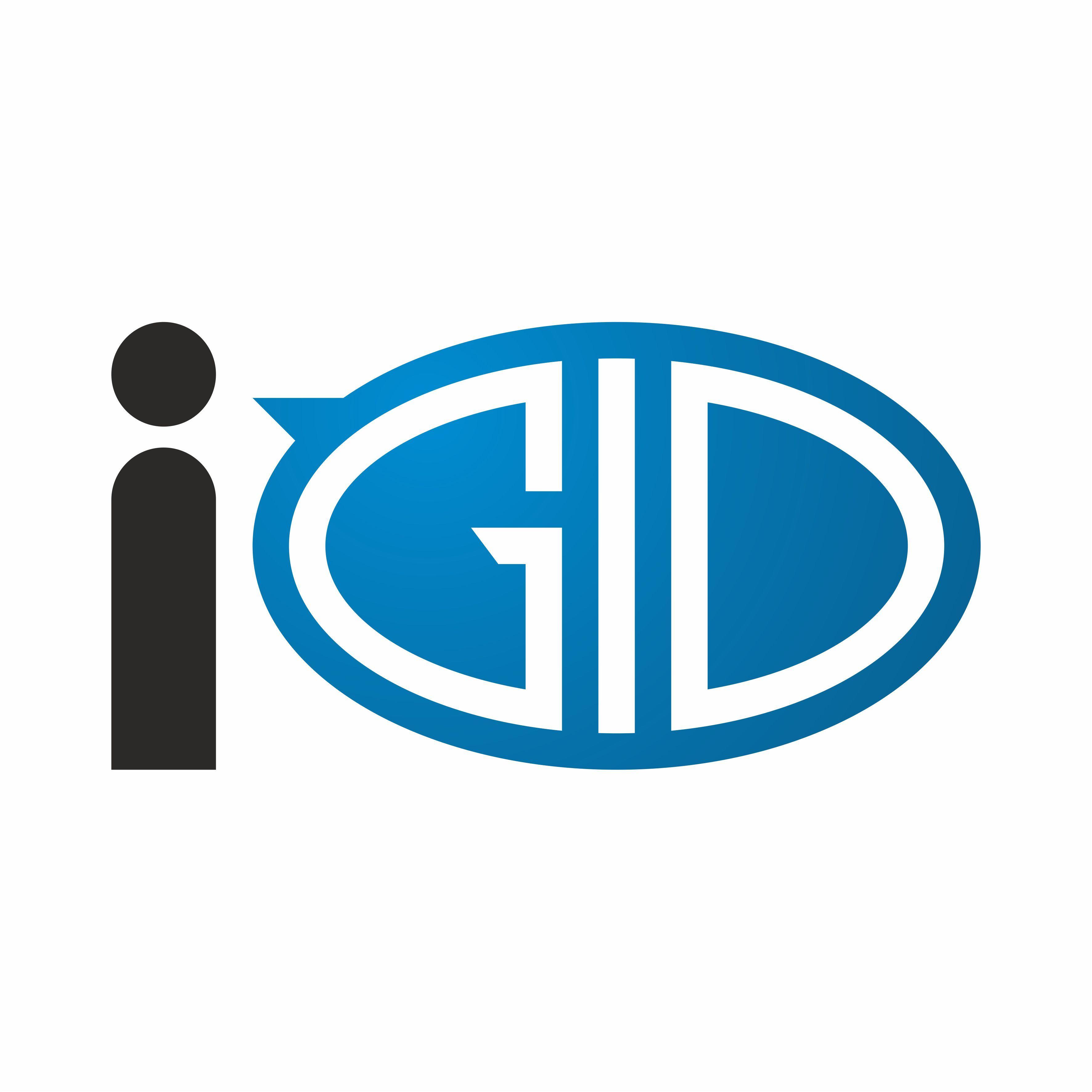 Создание логотипа iGid - дизайнер NickLight