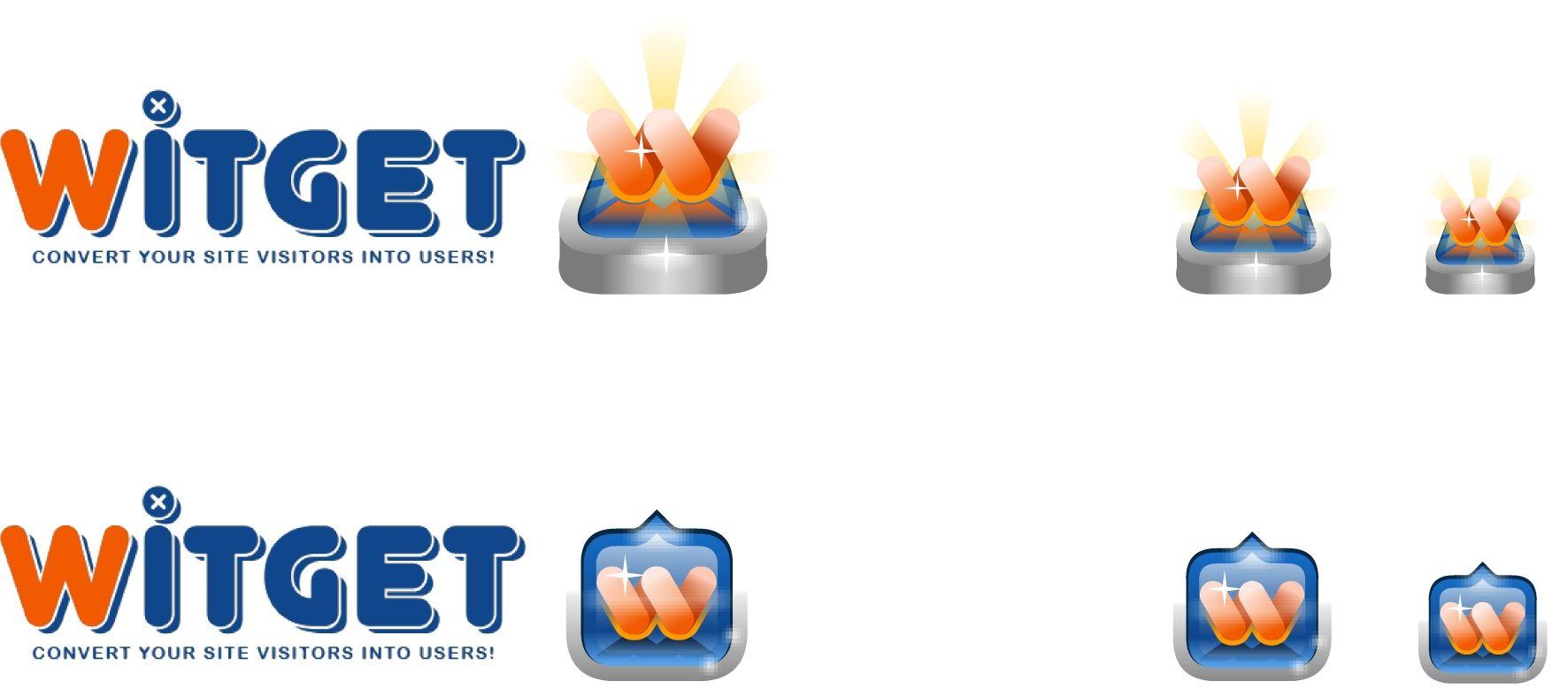 Witget.com - элементы брендирования Витжетов - дизайнер Lasteffort