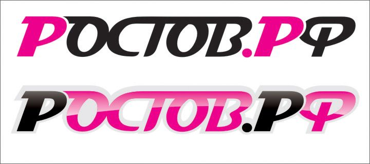 Логотип для портала Ростов.рф - дизайнер lineprint
