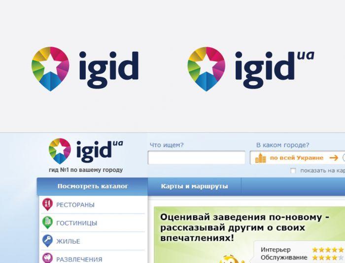 Создание логотипа iGid - дизайнер eduardo