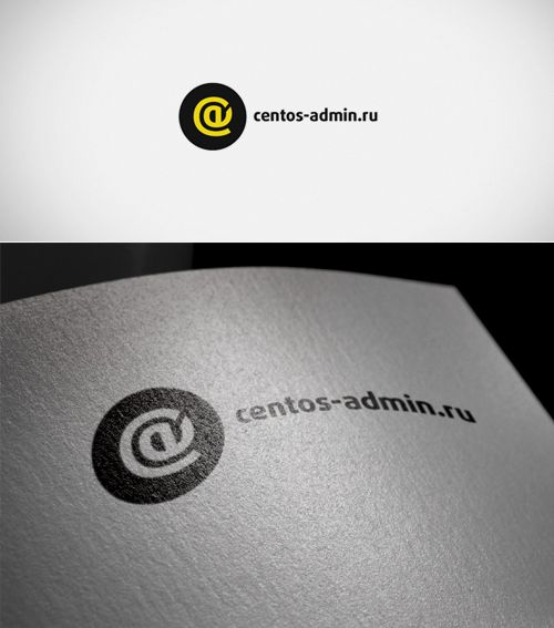 Логотип для компании Centos-admin.ru - дизайнер gisig