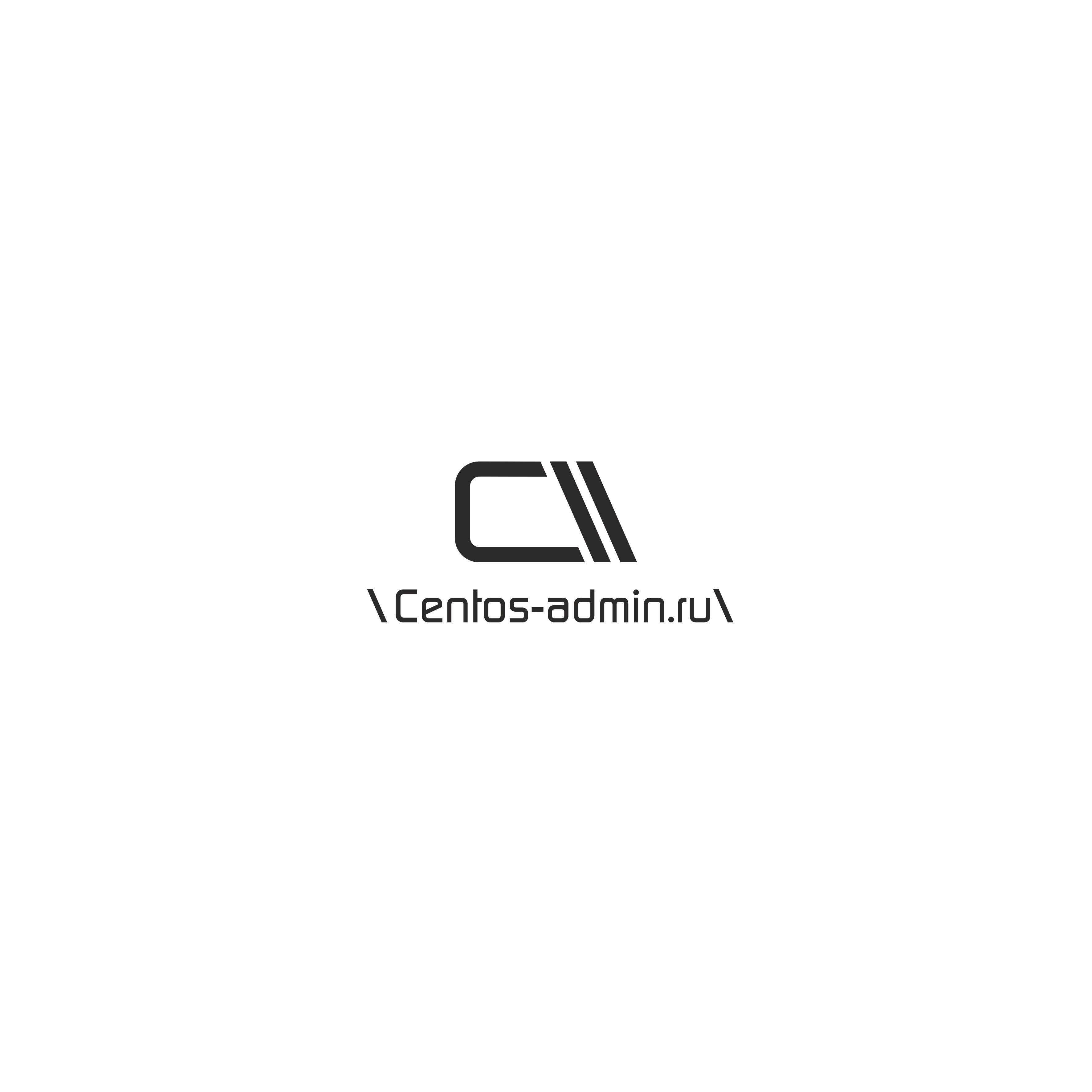 Логотип для компании Centos-admin.ru - дизайнер sviaznoyy