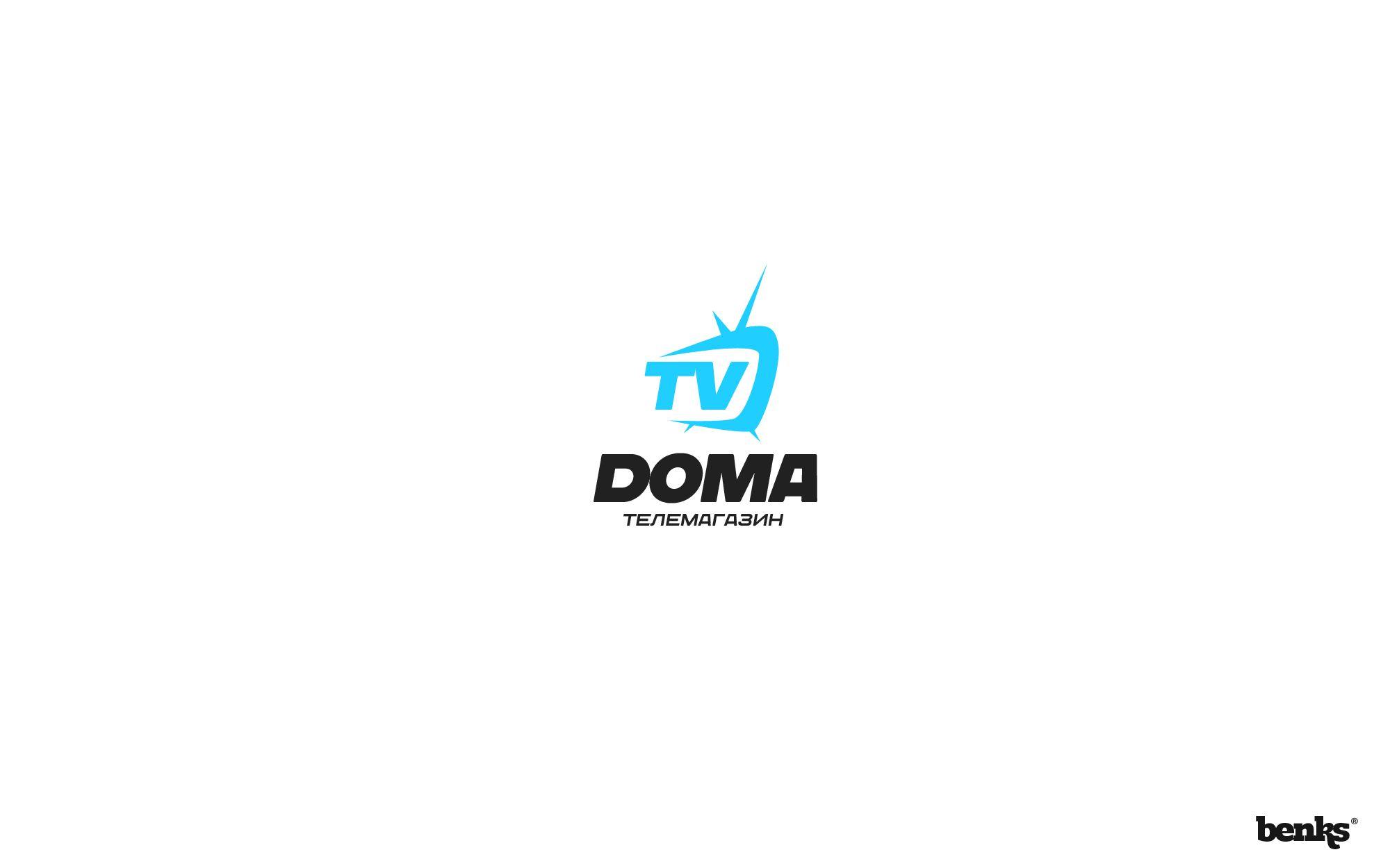 Логотип телеканала - дизайнер benks
