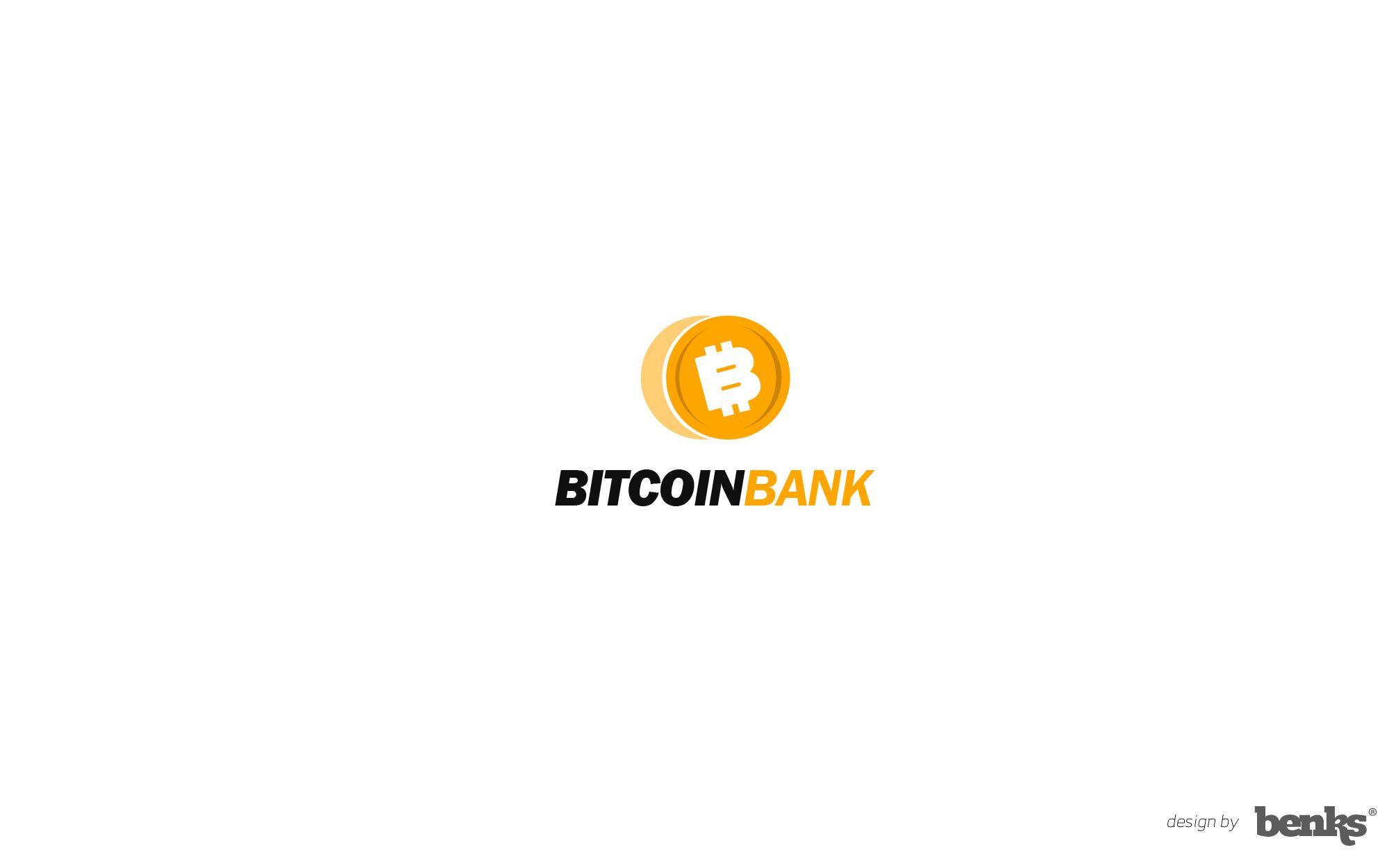 BitcoinBank - Логотип - дизайнер benks