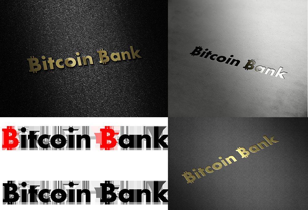 BitcoinBank - Логотип - дизайнер turboegoist