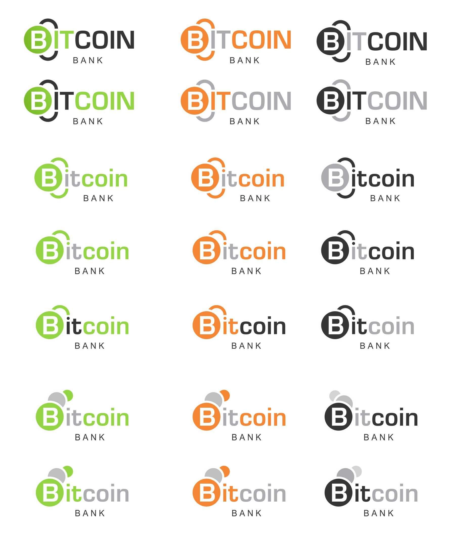 BitcoinBank - Логотип - дизайнер KBSH