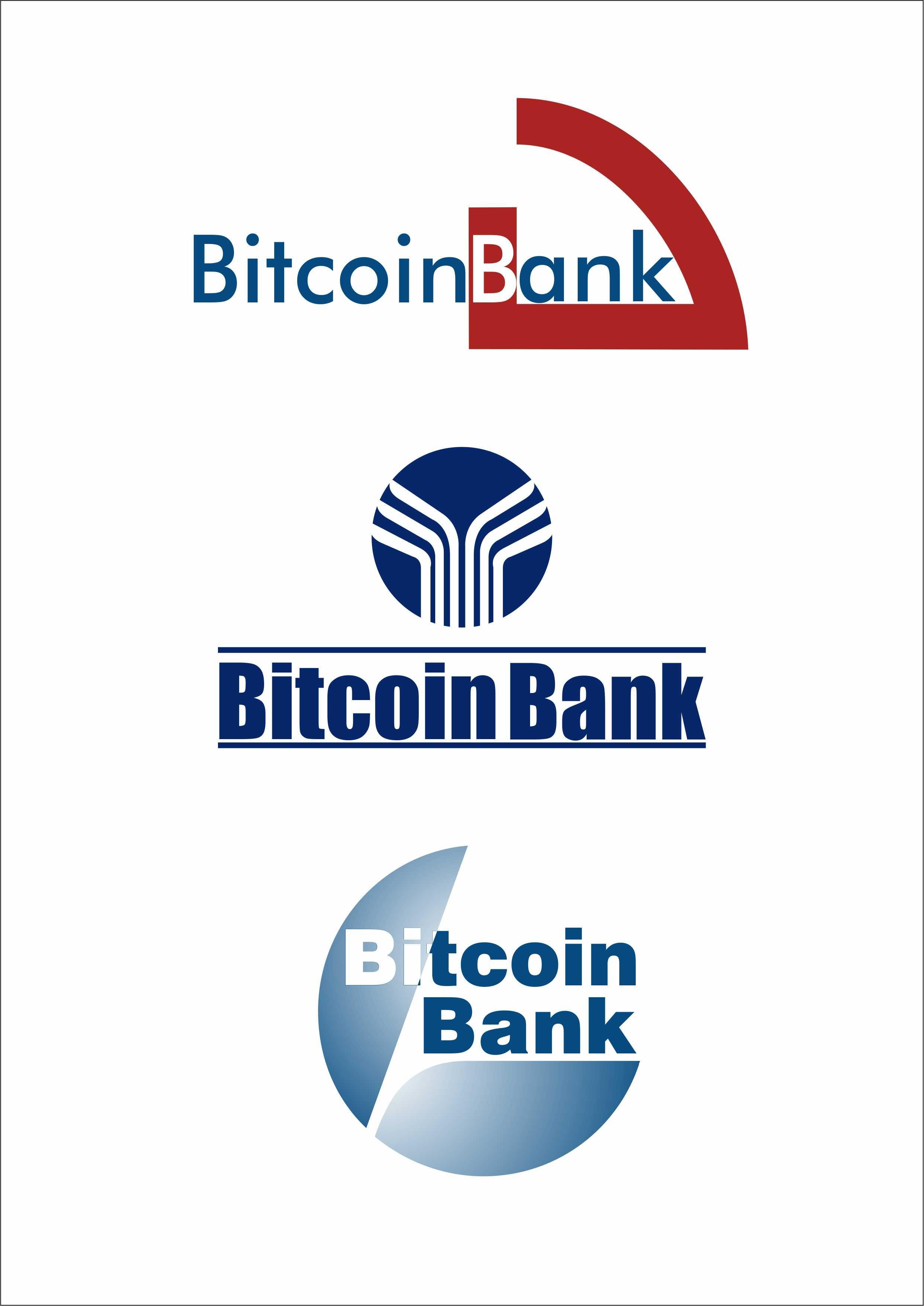 BitcoinBank - Логотип - дизайнер ssaapp