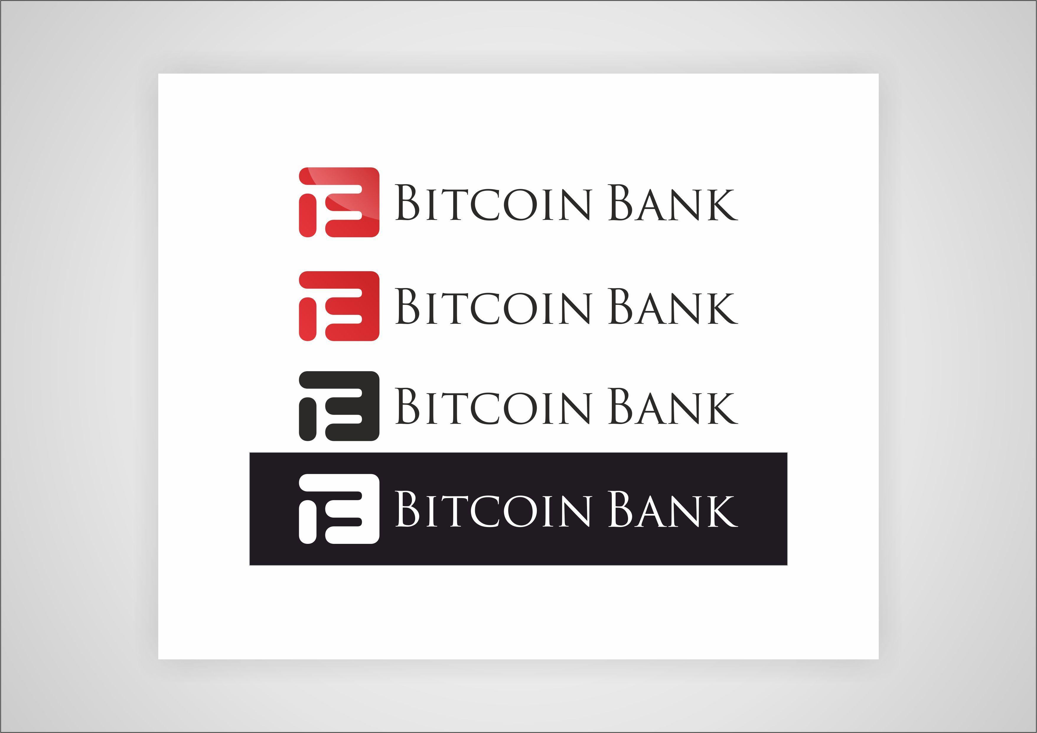 BitcoinBank - Логотип - дизайнер AlexDP