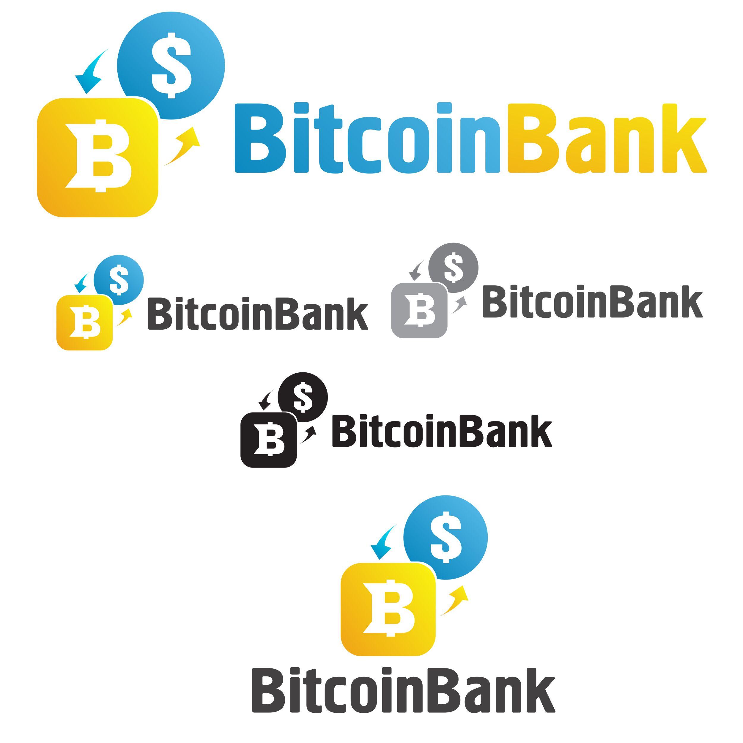 BitcoinBank - Логотип - дизайнер Zarapin17