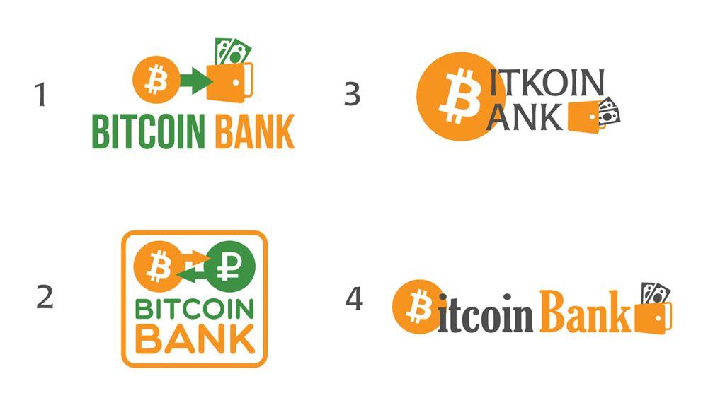 BitcoinBank - Логотип - дизайнер nyur_ok