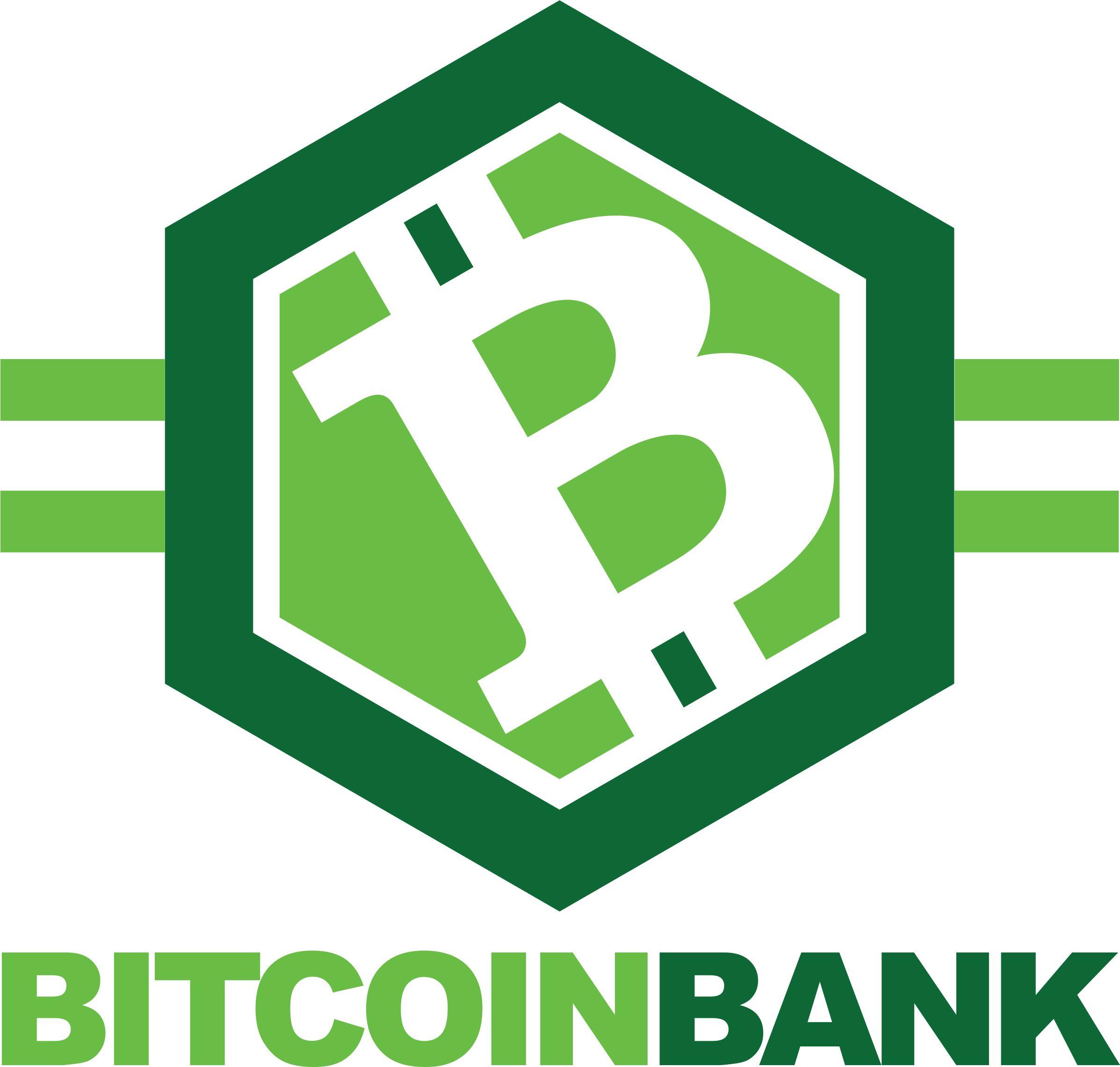 BitcoinBank - Логотип - дизайнер FakeDream