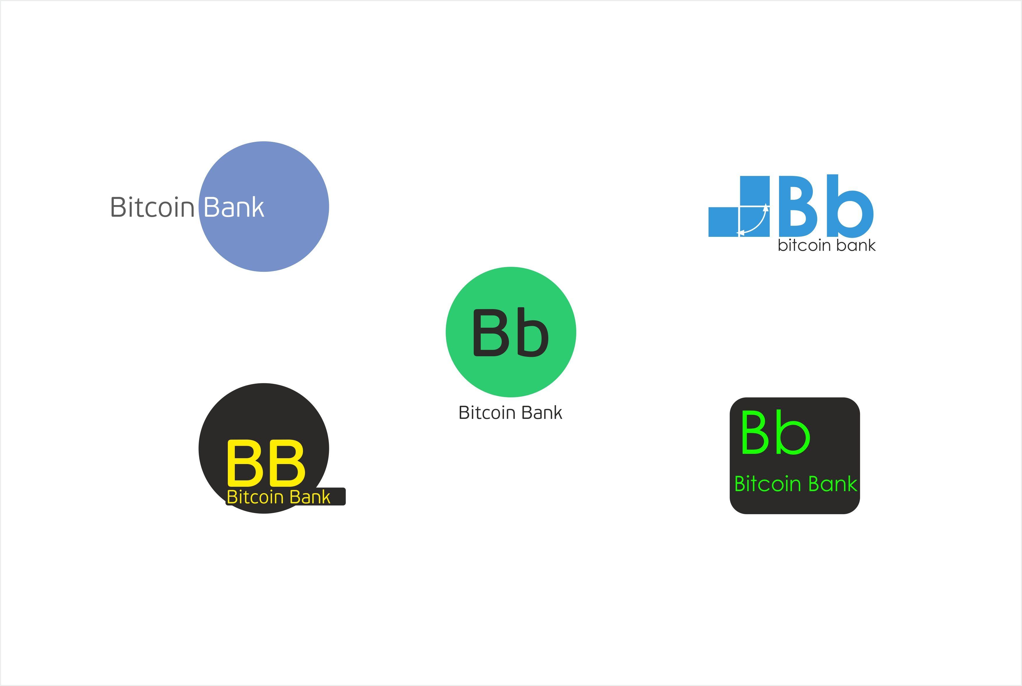BitcoinBank - Логотип - дизайнер PUPIK